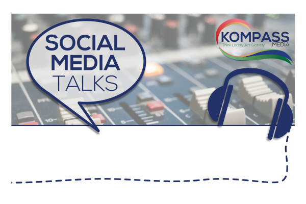 Social Media Talks  brand styling and logo design from Rutland design studio.