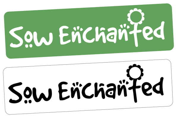 Sow Enchanted  brand and logo design from  - Rutland design studio.
