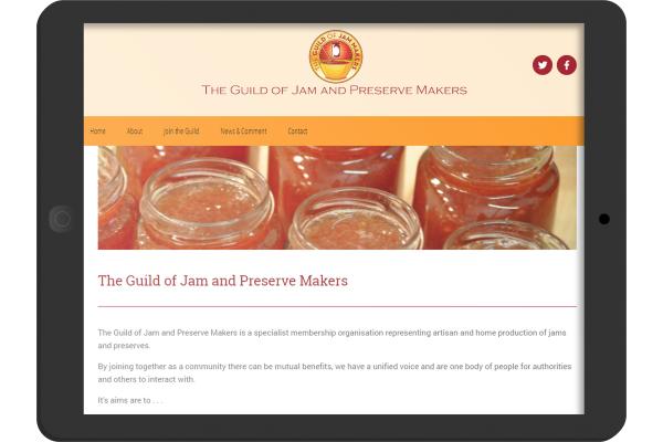 Jam Guild Wordpress Membership website developed for Oakham Rutland based business