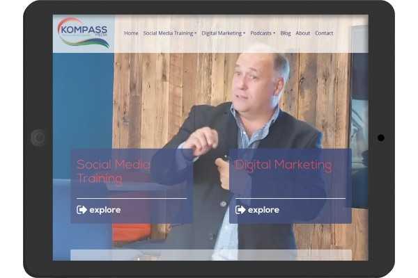 Kompass Media  bespoke web site development