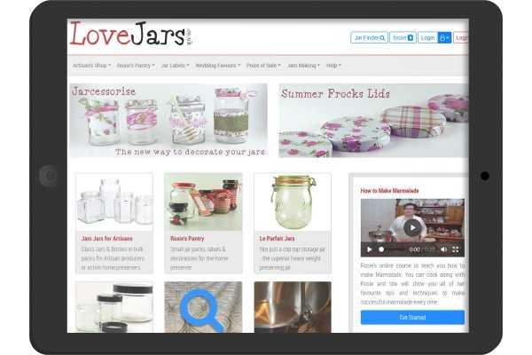 Love Jars leading supplier of jam jars and jam making equipment based in Oakham Rutland