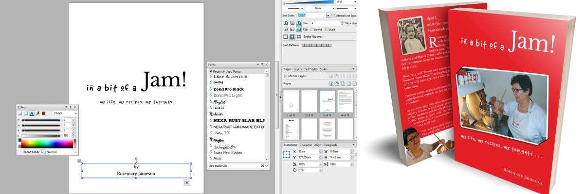 Book Design and Publishing  for Oakham, Rutland based Author